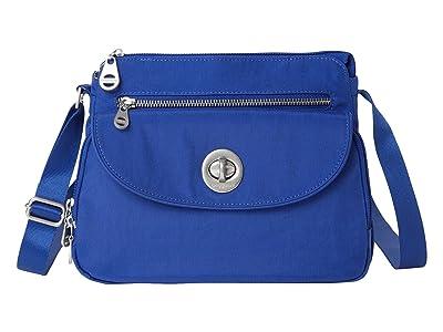 Baggallini International Calais Crossbody Bag (Cobalt) Handbags