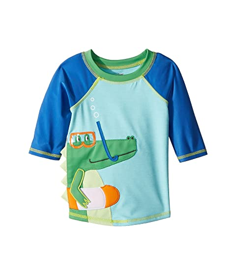 mud pie marco polo alligator rashguard infant toddler at 6pm. Black Bedroom Furniture Sets. Home Design Ideas