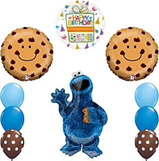 Mayflower Products Sesame Street Cookie Monsters Birthday Party Supplies Balloon Decorations