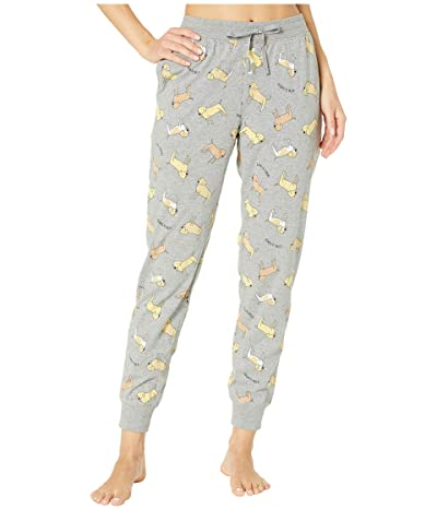 Life is Good Snuggle Up Sleep Jogger Pants (Heather Gray) Women