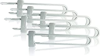 Dreambaby Cabinet Sliding Lock, Silver, 6 Pack
