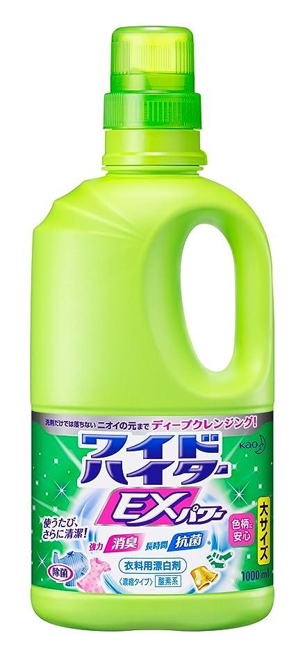 句地震雰囲気【大容量】ワイドハイターEXパワー 衣料用漂白剤 液体 本体 1000ml