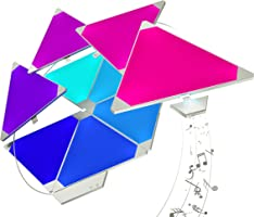 Nanoleaf Rhythm Larger Kit – 15 x Modular Inteligente LED & Módulo Integriert, 2 W, 16.7 Millionen Farben, 13.7 x 29.5 x...