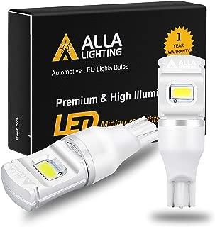 Alla Lighting 2800lm ETI-56 912 921 LED Reverse Lights Bulbs Xtreme Super Bright 12V 921KX Back Up Light SMD T10 T15 906 W16W Replacement for RV, Cars, Trucks, 6000K Xenon White