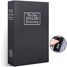 Book Safe with Combination Lock, Ohuhu Dictionary Diversion Book Safe, Portable Safe Box, Great for storing Money, Jewelry and Passport