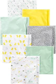 Baby 7-Pack Flannel Receiving Blankets