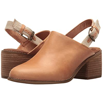 TOMS Leila Slingback (Honey Leather) Women