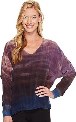 Hard Tail - Long Sleeve V-Neck Pullover
