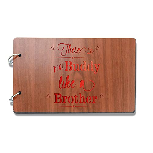 Sehaz Artworks Like A Brother Photo Album Wooden 26 Cm