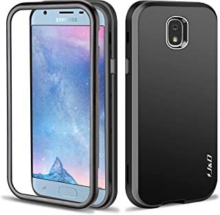 J&D Case Compatible for Galaxy J3 2018 Case, J3 V 3rd Gen/J3 Achieve/J3 Star/Amp Prime 3 Case, [ArmorBox] [Triple-Layer] [Matte Surface] Hybrid Shock Proof Rugged Case for Samsung Galaxy J3 2018 Case