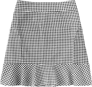 Best ladies checked skirts Reviews