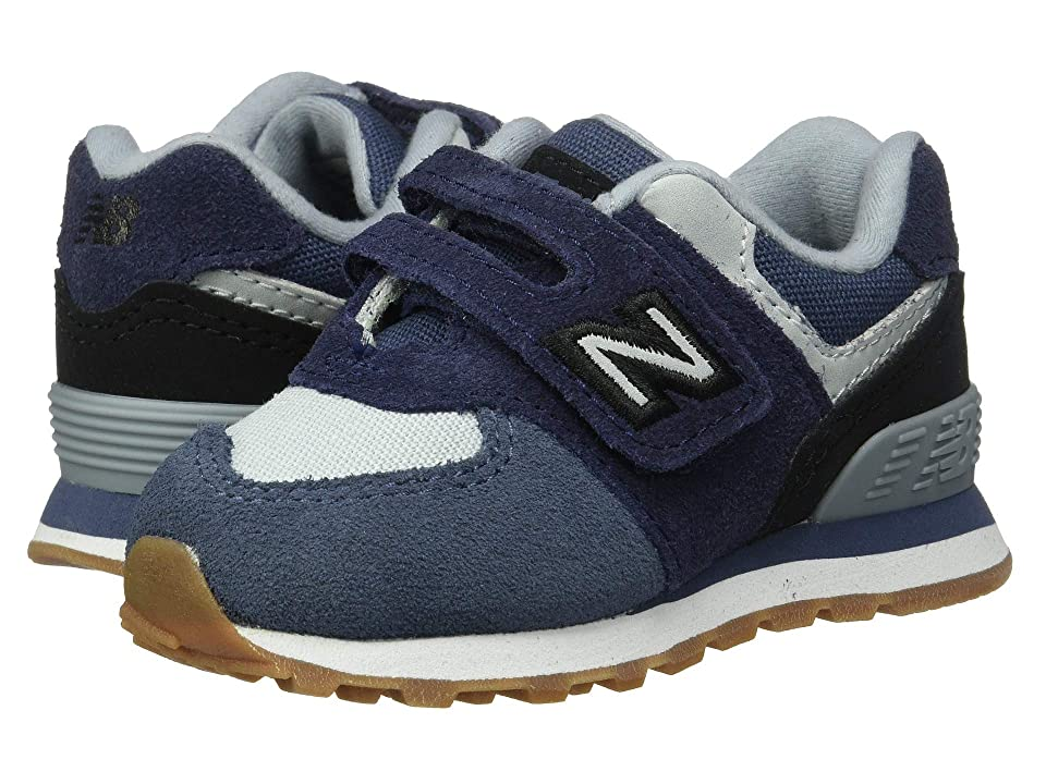 New Balance Kids IV574v1 (Infant/Toddler) (Pigment/Black) Boys Shoes
