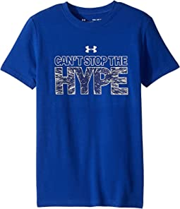 Can't Stop The Hype Short Sleeve Tee (Big Kids)