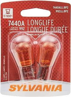Sylvania 7440A Long Life Miniature Bulb (Contains 2 Bulbs)
