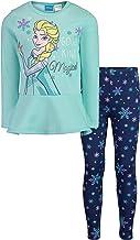 Disney Frozen Girls Long-Sleeve Fleece T-Shirt and Leggings Set