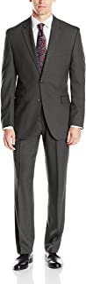 Men's Slim Fit Suit with Hemmed Pant