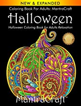 Coloring Book for Adults: MantraCraft Halloween: Halloween Coloring Book for Adults Relaxation PDF
