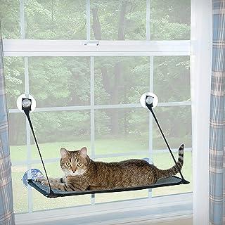"K&H Pet Products EZ Mount Window Kitty Sill Gray 12"" x 23"""