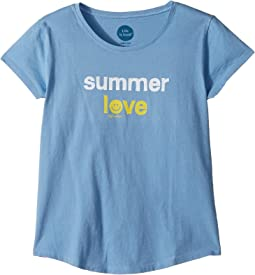 Life is Good Kids - Summer Love Smiling Smooth Tee (Little Kids/Big Kids)