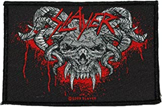 Slayer Demonic Album Cover Iron Sew On Patch Badge Decal Bag Fan 100% Official