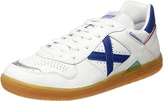 MUNICH - Continental - Indoor Soccer/Futsal Shoe - White/Blue