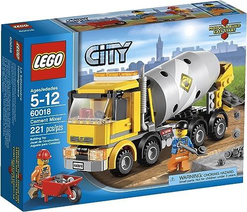 LEGO City CeHommest Mixer 60018