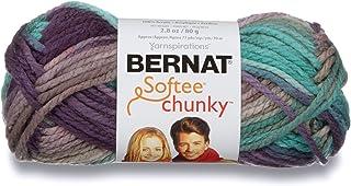 Bernat Softee Chunky Ombre Yarn, 2.8 oz, Shadow, 1 Ball