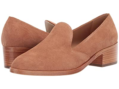 Soludos Sophia Block Heel (Tan) Women