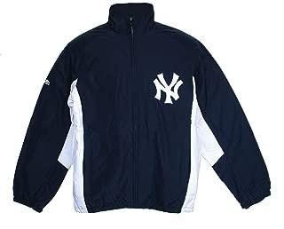 Majestic New York Yankees 3X-Large 3XL Full Zipper Jacket - 2 Tone Navy