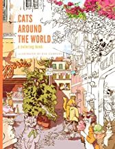 Cats Around the World: A Coloring Book