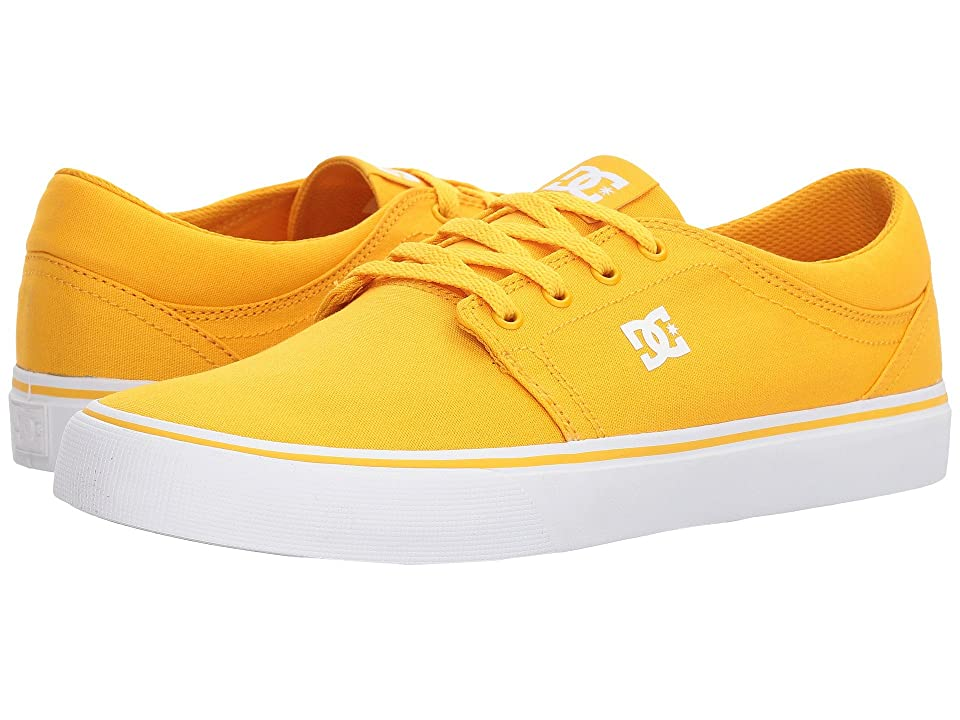 DC Trase TX (Yellow/Gold) Skate Shoes