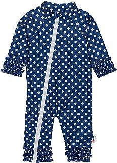 لباس شنای آستین بلند دخترانه SwimZip UPF 50 (چند رنگ)