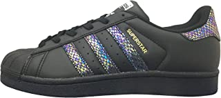 adidas Superstar J Black/Black/Black (Big Kid)