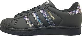 adidas Superstar J Black/Black/Black (Big Kid)