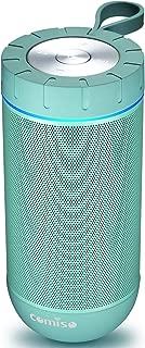 COMISO Waterproof Bluetooth Speakers Outdoor Wireless Portable Speaker with 20 Hours..