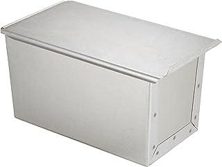 遠藤商事 業務用 アルタイト食パン型(フタ付) 1.5斤 鉄アルミメッキ 日本製 WSY03015