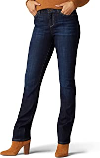 Lee Womens 35206 Iconic Regular Fit Straight Leg Jean Jeans