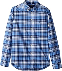 Performance Poplin Shirt (Big Kids)