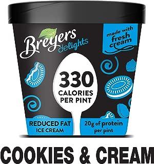 Breyers Delights Ice Cream, Cookies and Cream 16 oz (Frozen)