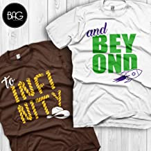 Disney couple shirt, To infinity and Beyond Shirts for couples, Perfect for Honeymoons and Walt Disney World vacation, Gift for his and her
