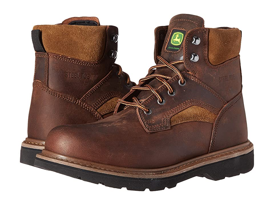 John Deere 6 Steel Toe Boot (Gaucho Brown) Men