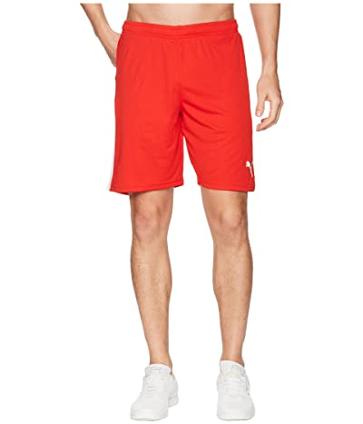 PUMA Liga Shorts (Puma Red/Puma White) Men