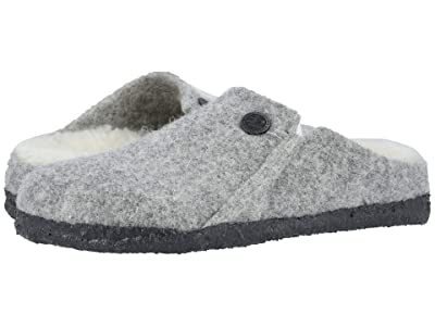 Birkenstock Kids Zermatt Slipper (Toddler/Little Kid/Big Kid) (Light Gray) Girl