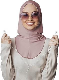 سماعات رأس حجاب، وشاح رأس قطن، جاهز لارتداء إكسسوارات الإسلامية للنساء