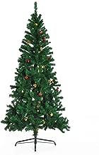 Árbol de Navidad + DECORACION INCLUIDA Pino Abeto Diametro 80x180 cm 624 Ramas PVC Verde