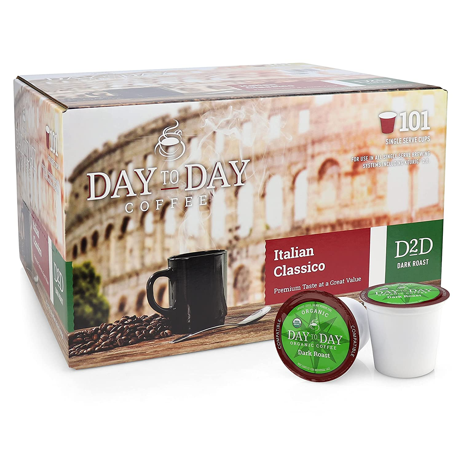 Day OFFicial To Coffee Pods Compatible with Box Colorado Springs Mall 2.0 Brewers Keurig