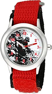 Marvel Kids' W002239 Ant-Man Analog Display Analog Quartz Red Watch