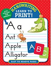 Handwriting: Learn to Print! (Letter Tracing, Practice) PDF