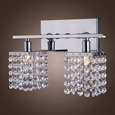Lightinthebox Modern/Contemporary 25W G9 Crystal and Metal Wall Lamp with 2 lights Max 25W