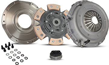 Clutch Kit Works With Chrysler PT Cruiser Touring Limited Base Street Cruiser 2001-2006 2.4L L4 GAS DOHC Naturally Aspirated(Modular Clutch Kit; Non Turbo; 6-Puck Clutch Disc Stage 2)